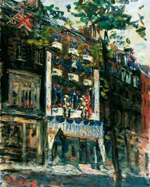 40 Dover Street (Hartnell's), June 1953