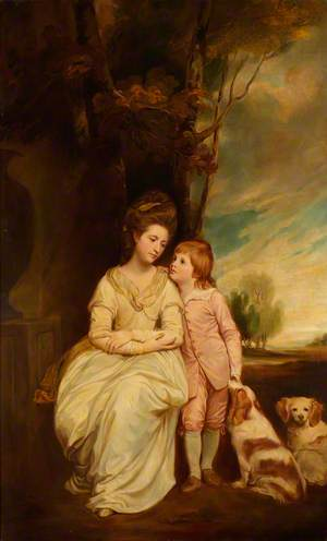 Anne Keppel, Countess of Albemarle (c.1743–1824), and Her Son William Charles (later 4th Earl of Albemarle) (1772–1849)