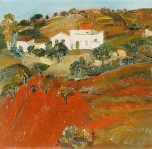 Landscape with House, Spain