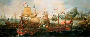 Attack on Spanish Treasure Galleys, Portugal