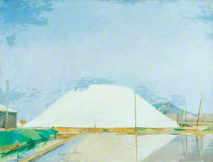 Salt Triangle at Hyères, France