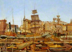 Marseilles Harbour, Quai du Port