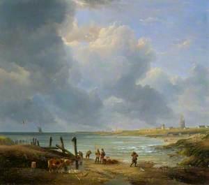 Landscape on the Norfolk Coast