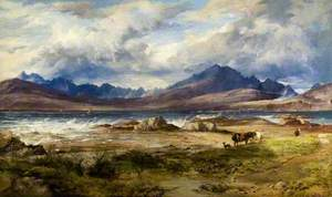 The Cuillin from Ord, Skye
