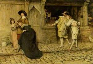 'Casus belli': Scene from Walter Scott's 'Peveril of the Peak'