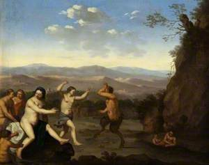 Landscape with Nymphs and Satyrs Dancing