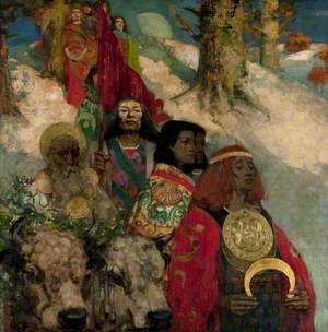 The Druids: Bringing in the Mistletoe
