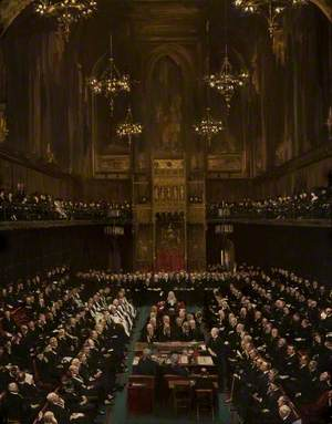 Viscount Morley Addressing the House of Lords