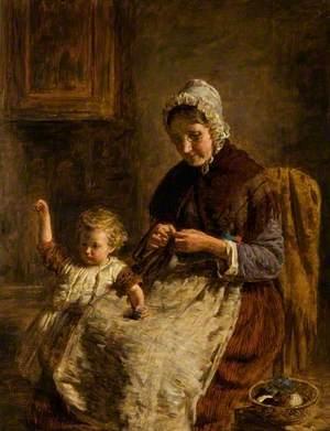 Grandmother's Pet