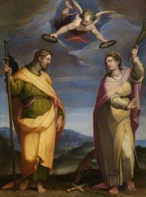 Saint James Major and Saint Catherine of Alexandria