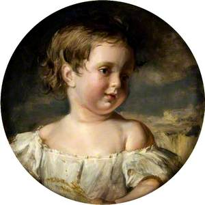 The Brother of Ina, Dowager Duchess of Argyll, as a Boy