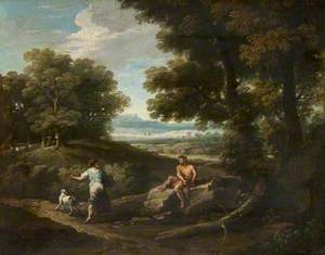 Landscape and Figures