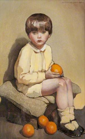 Little Boy with Oranges