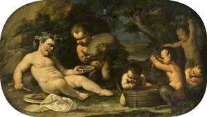 Bacchus and Infant Fauns
