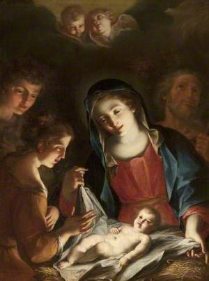 Virgin Adoring the Infant Christ