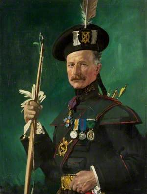 Sir Hugh Reid (1860–1935), in the Uniform of the Scottish Archers