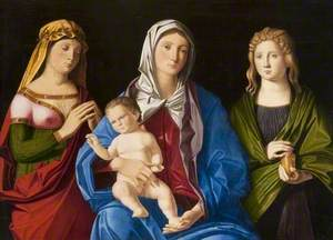 Virgin and Child with Saint Mary Magdalene and Another Female Saint