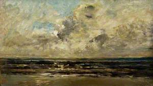 Seascape at Villerville