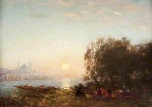 Constantinople, Sunset
