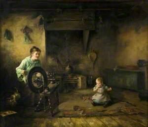 Interior: The Spinning Wheel