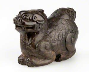 Figure of a Reclining Monster (possibly Kylin)*