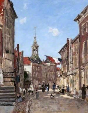 A Street in Dordrecht