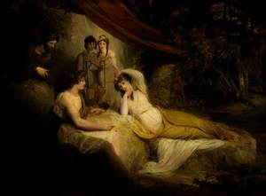 Telemachus in the Bower of Calypso