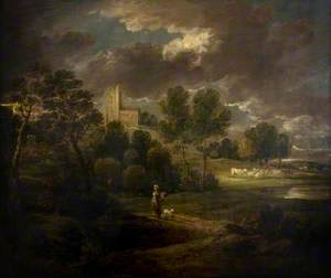 Woody Landscape near Bath