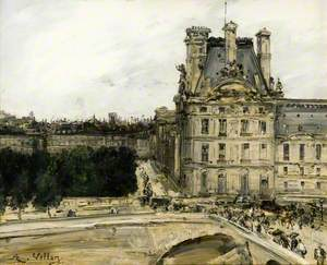 A Corner of the Louvre