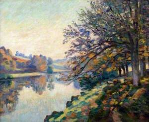 Riverbank, Autumn