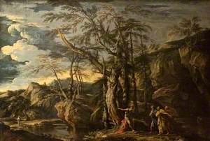 Saint John the Baptist Revealing Christ to the Disciples