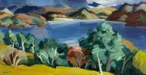 Oak Trees, Loch Carron