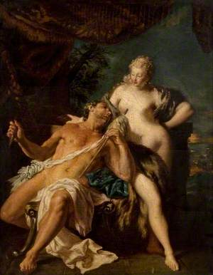 Hercules and Omphale