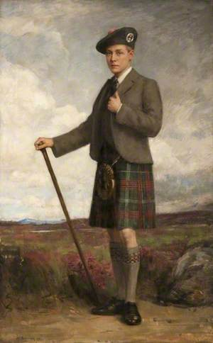 Edward, Prince of Wales (1894–1972), in Highland Costume