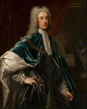 John Dalrymple (1673–1747), 2nd Earl of Stair or John Campbell (1680–1743), Duke of Argyll and Greenwich