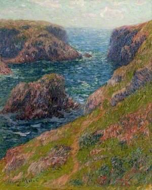 Cliffs at Port-Domois, Belle-Île