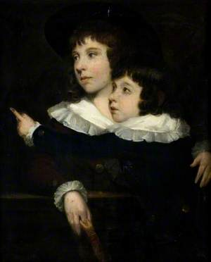 Master Benjamin Smith (1783–1860), and His Younger Brother