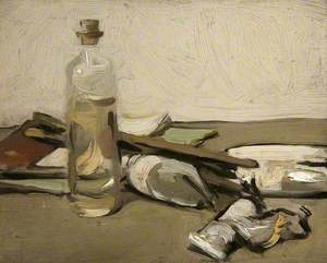 Still Life with Paint Tubes