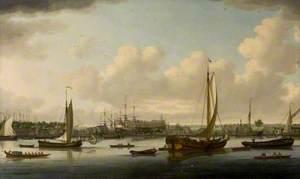 A Shipyard on the Thames