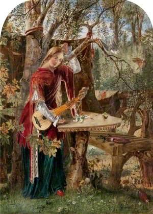 Fair Rosamond Alone in Her Bower