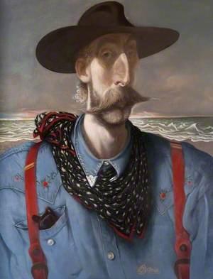 Self Portrait in Stetson