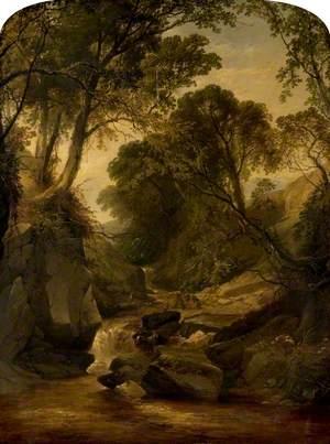 A Rocky Landscape, View in Wales