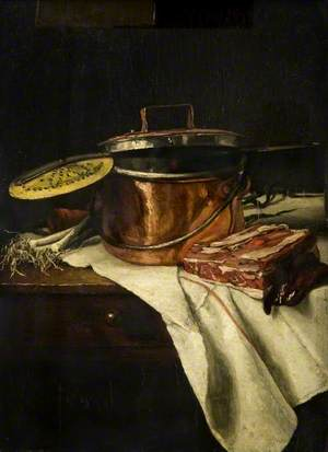 Still Life with a Copper Pot