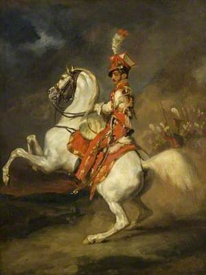 The Trumpeter of the Lancers of the Guard