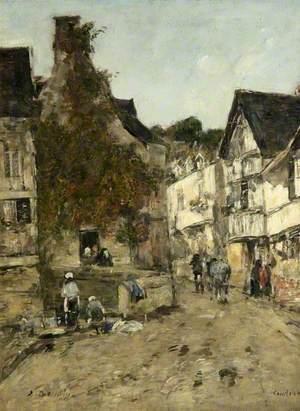 A Street in Caudebec-en-Caux
