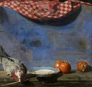 Parrot and Persimmons