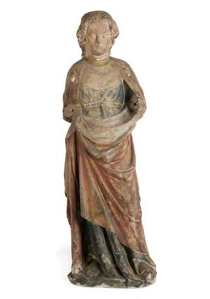 Figure of a Female Saint*