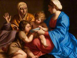 Virgin and Child with Saint Elisabeth and Child Baptist