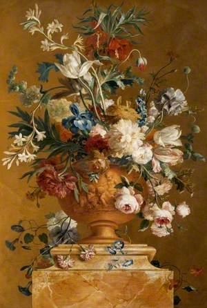 Still Life: Flowers in a Terracotta Urn
