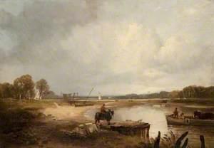The Clyde near Erskine Ferry